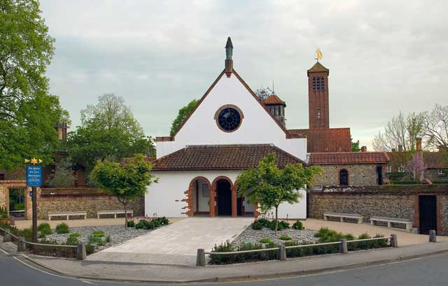 Front view of the Anglican Shrine, Walsingham