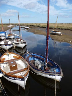 Boats at Blakeney, Norfolk
