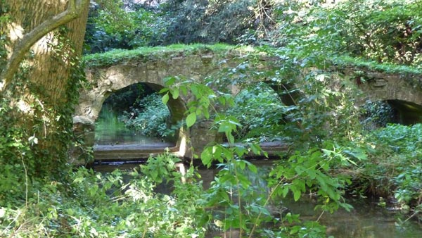 Bridge in Abbey grounds, Walsingham