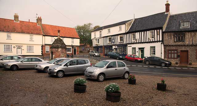 Common Place, in the centre of Little Walsingham