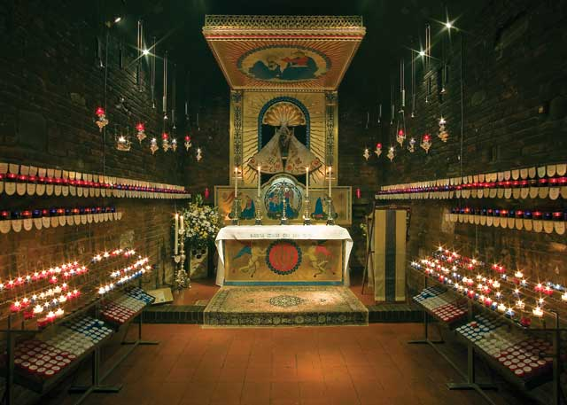 The Holy House at the Anglican Shrine, Walsingham
