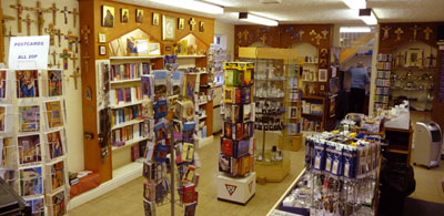 Book and gift shop