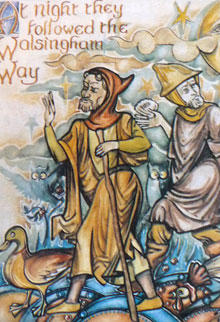 At Night they followed the Walsingham Way