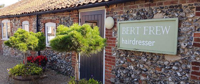 Bert Frew hairdresser, Walsingham