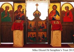 St Seraphim's Chapel interior