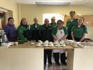 St John Ambulance volunteers
