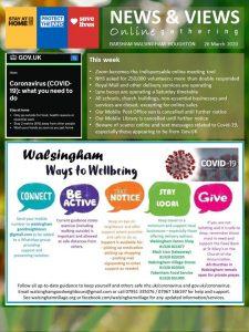 News and Views magazine online gathering